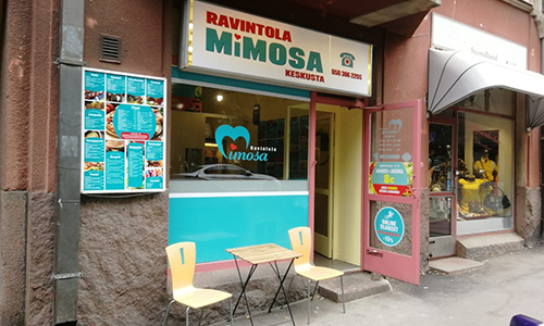 Ravintola Mimosa - Keskusta